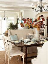 Thanksgiving Interior Decor Ideas. Via Better Homes and Gardens.