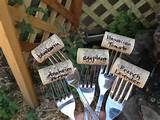 cheap easy garden labels garden ideas pinterest