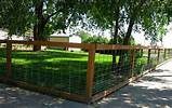 simple maintenance free inexpensive fencing solution steadman