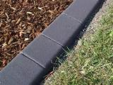 diy concrete garden edging with gray colors garden edging ideas are