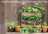 ... Designs: Creative Ways To Use Pallets Outdoors & In Your Garden