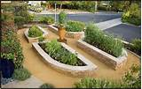 stone raised bed vegetable garden landscaping ideas landscape