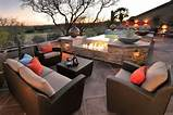 Eye-Catching, Modern Outdoor Fireplaces Turn The Patio Into A Dreamy ...
