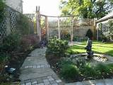 new garden idea picture small garden layouts