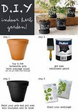 diy indoor herb garden green living pinterest