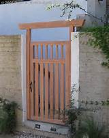 Modern / Asian Entry Gate Modern / Asian Fusion Double Entry Gate