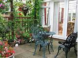 patio decorating ideas cheap garden vignettes pinterest