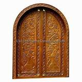 Top Front door design patterns for Double door - Latest Home Designs