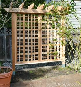 Free Standing Trellis Plans Plans DIY Free Download How To Build A ...