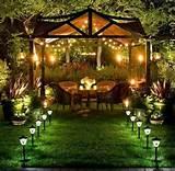 ideas for garden lights outdoor living pinterest