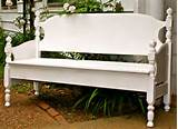 amusing white color outdoor garden benches idea