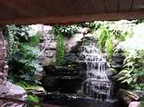interior natural garden design ideas with indoor garden waterfall
