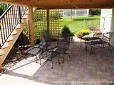 Patio Under Deck
