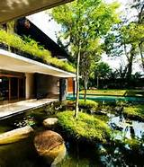 bungalows design ideas in singapore with garden pool designs