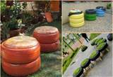 Creative Ideas For Old Tires | So Creative Things | Creative DIY ...