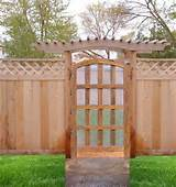 Garden Gates | Custom Gates |Custom Wood Gates