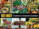 Container gardens | Front Porch and Garden Ideas | Pinterest