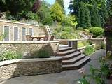 ideas win gardens sloped landscapes sloped gardens gardens wall