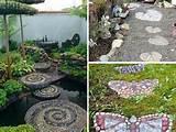 23 wonderful diy garden stepping stone ideas stunning diy stone cactus ...