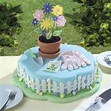 Gardener cake | 80th Birthday Cake Ideas for Grandma | Pinterest