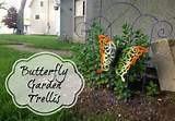 ... Store Crafts » Blog Archive » Tutorial: Butterfly Garden Trellis