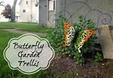 store crafts blog archive tutorial butterfly garden trellis