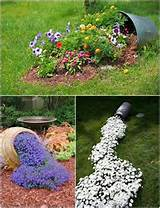 spilled flower beds for the home pinterest