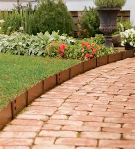 Flowers Photos » metal edging for flower beds