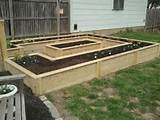 scale enclosed square foot garden style garden ideas pinterest
