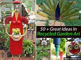 ... when it comes to recycling items to add to their garden. I wish I was