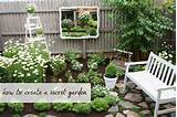 quiet garden corner gardening pinterest