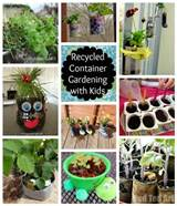 recycled container gardening with kids a list of container ideas