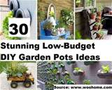 TOP 30 STUNNING LOW-BUDGET DIY GARDEN POTS IDEAS | EverythingOrganized ...