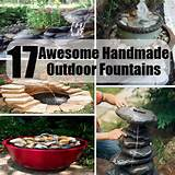 17 awesome handmade outdoor fountains to beautify your garden