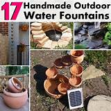 17 Really Cool DIY Handmade Outdoor Water Fountains