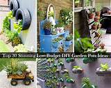 30 beautiful lower budget diy garden pots and containers 2015