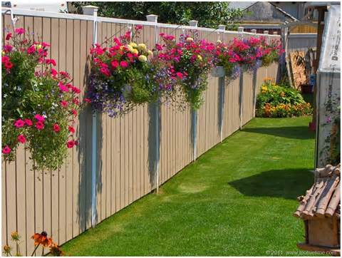 10 Fantastic Fence Planter Ideas for Your Garden | Architecture ...