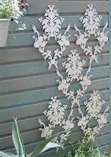 unique trellis idea garden pinterest