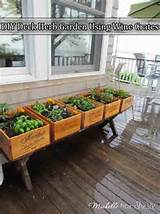 DIY-Deck-Herb-Garden-Using-Wine-Crates - herb garden - Mohawk ...