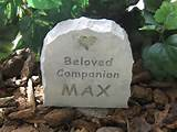Gallery of Pet Memorials Pet Memorial Stones Pet Grave Markers