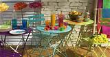 frische Farbkombination für bunte Gartengestaltung in Blau mit ...