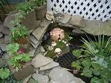 fairy garden furniture in our pond ideas for abbe pinterest