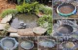 How to Make a Decorative Pond From Old Tires | Home Design, Garden ...