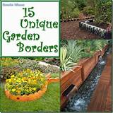 15 Unique Garden Border and Edging Ideas