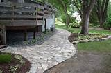 Walkway Landscaping Ideas - Pathway Landscape Designs | Lawn King