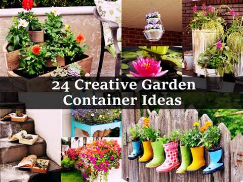 container projects that will inject life and style into your garden