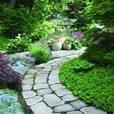 ideas for garden paths. More than 60 pictures of garden path ideas ...