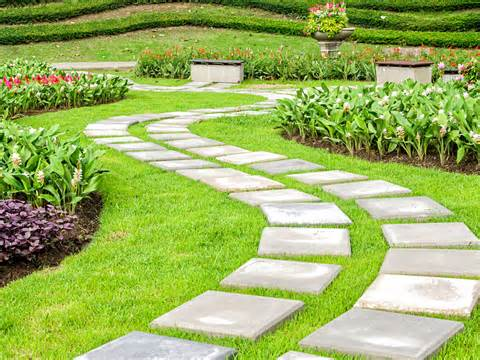 ... www.dreamstime.com/stock-photo-landscaping-garden-path-image34971230