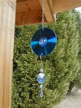 recycled garden art children s simple chime and suncatcher what