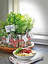 Tin Can Herb Garden for your Kitchen counter